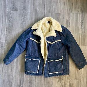 VINTAGE Jean jacket - sears